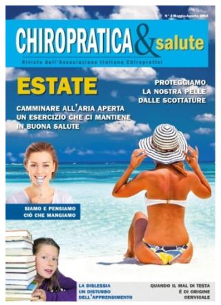 rivista chiropratica e salute
